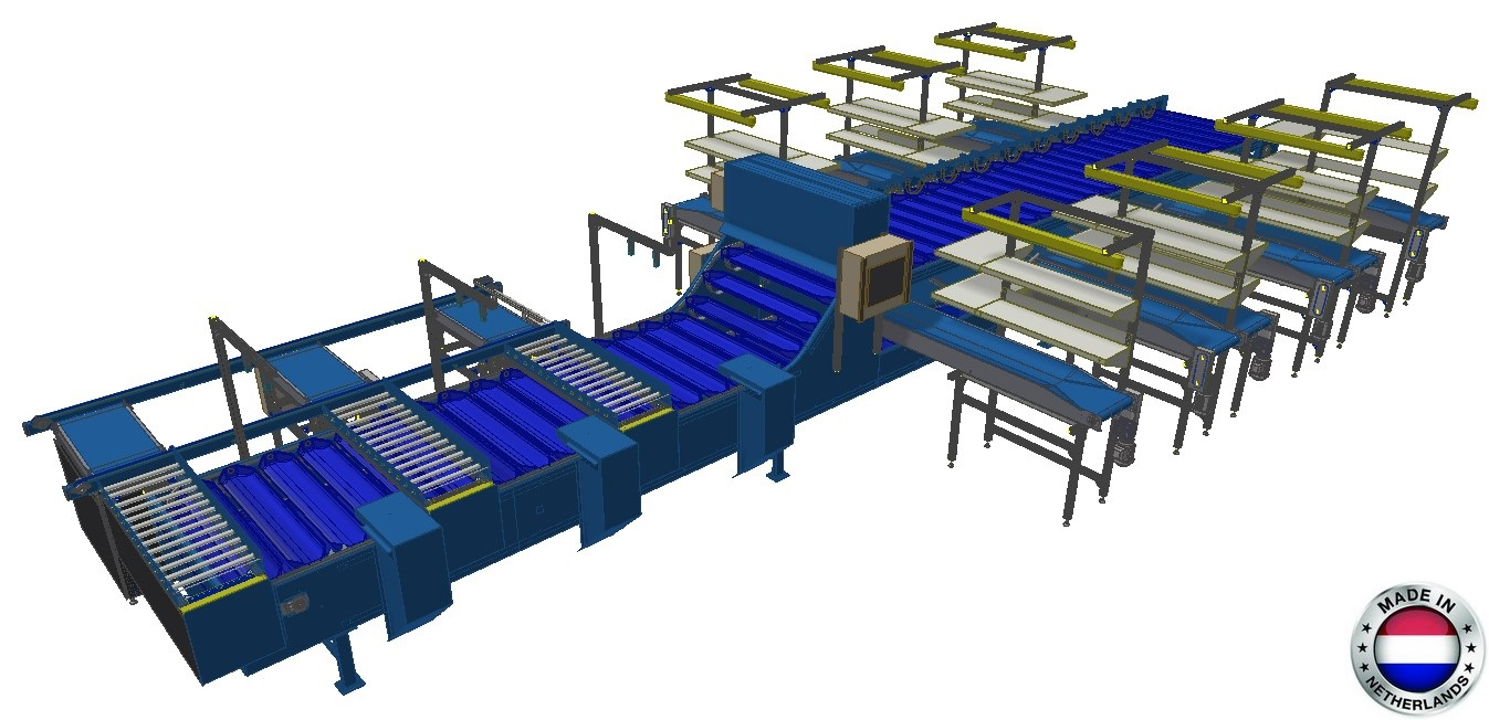 Customized universal sorting machine (US12-2-2M-12TB) Image